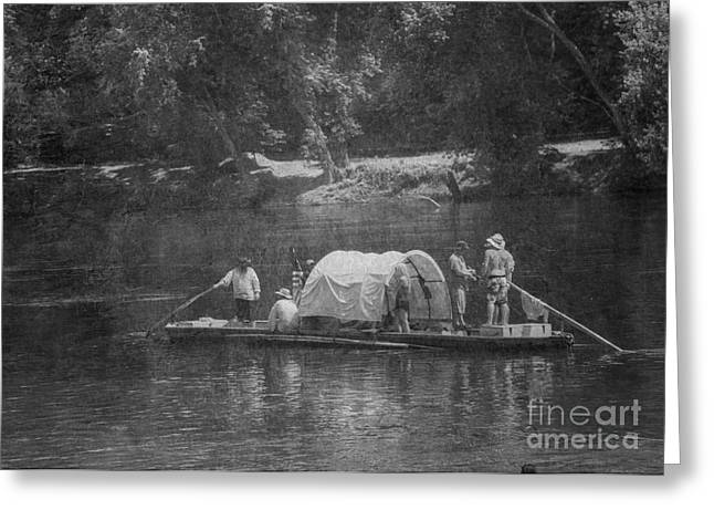 Greeting Card featuring the photograph On The James by Pete Hellmann