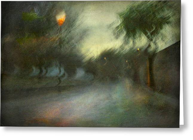 Greeting Card featuring the photograph On The Road #12. Xynthia's Trail by Alfredo Gonzalez