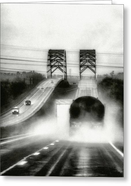 On The Road Again Greeting Card by Robert  FERD Frank