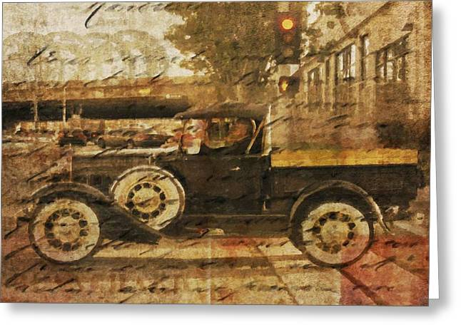 On The Road Greeting Card by Irena Orlov
