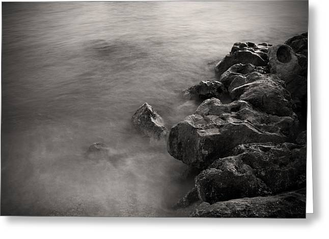 On The Rocks Greeting Card by Fizzy Image