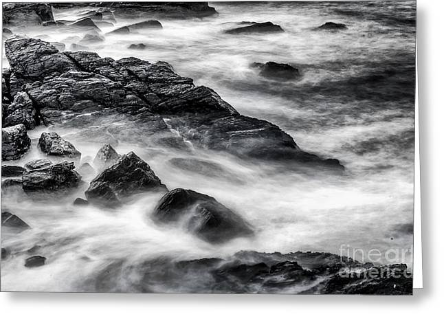 On The Rocks Greeting Card by Scott Thorp