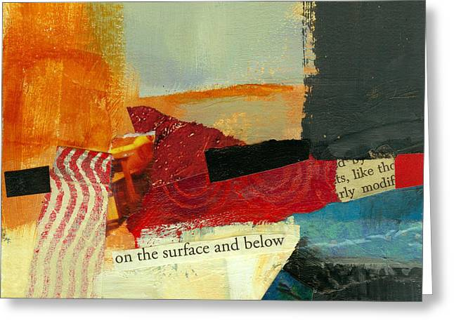 On The Surface And Below Greeting Card
