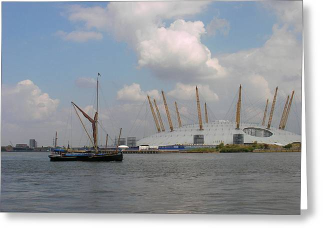 On The Thames Greeting Card