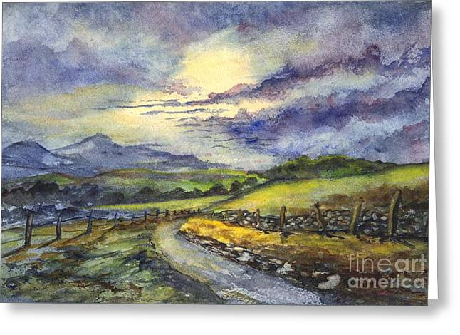 Calm After The Storm Greeting Card by Carol Wisniewski