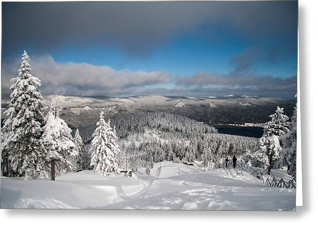 on the Wurmberg II Greeting Card by Andreas Levi