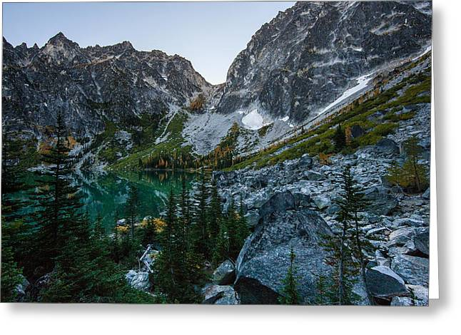 On To Aasgard Pass Greeting Card by Mike Reid