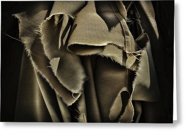 Once In A Torn Dream Greeting Card by Walt Foegelle