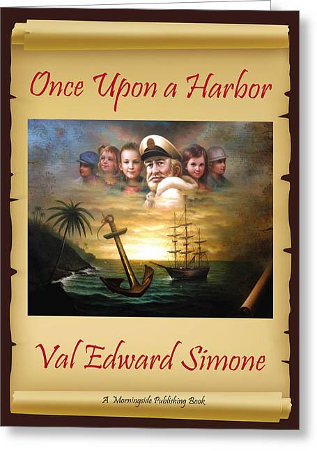 Once Upon A Harbor - Front Book Cover-final Greeting Card by Yoo Choong Yeul