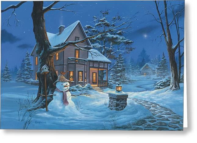 Once Upon A Winter's Night Greeting Card