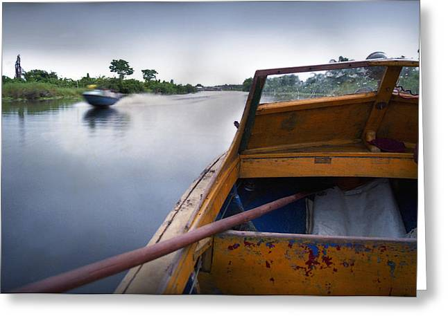 Ondo Riverine Highway Greeting Card