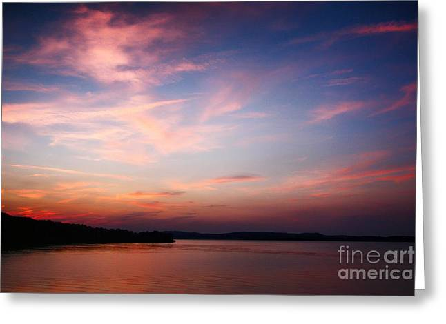 One Fine Sunset Greeting Card