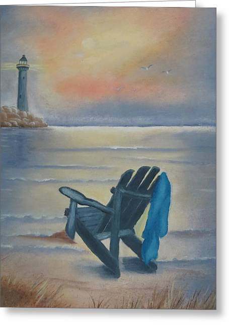 One Is A Lonely Number Greeting Card by Kay Novy