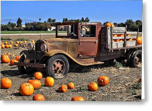 One More Pumpkin Greeting Card by Michael Gordon