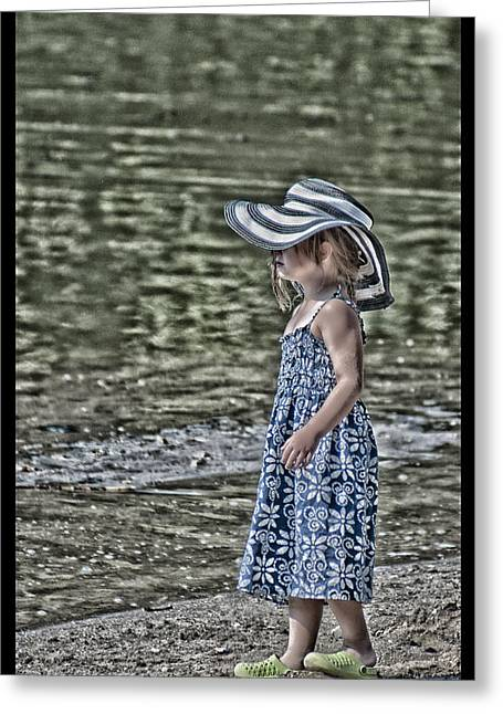 One Summer Day In A Child's  Life Greeting Card