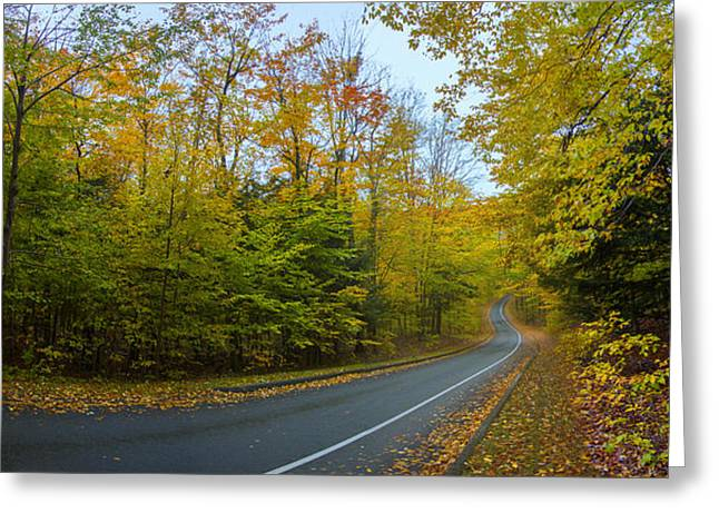 One Way On Pierce Stocking Drive Greeting Card