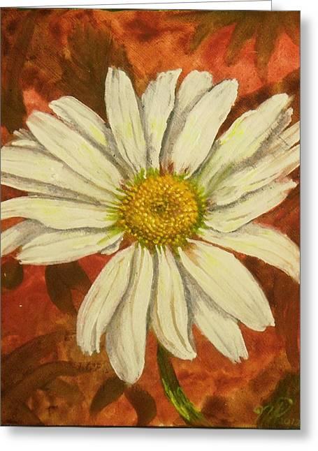 One Yorktown Daisy Greeting Card