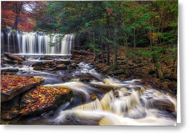 Oneida Falls Greeting Card