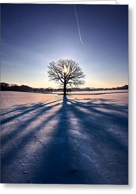 Oneness Greeting Card by Phil Koch