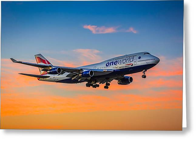 Oneworld Greeting Card by Neah Falco