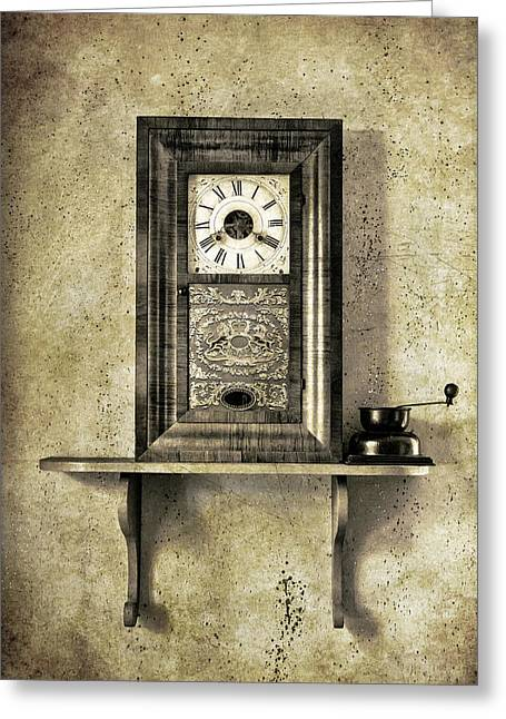 Only Time Will Tell Greeting Card by Jeff Burton