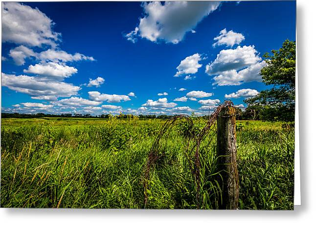 Open Country Greeting Card by Todd Reese