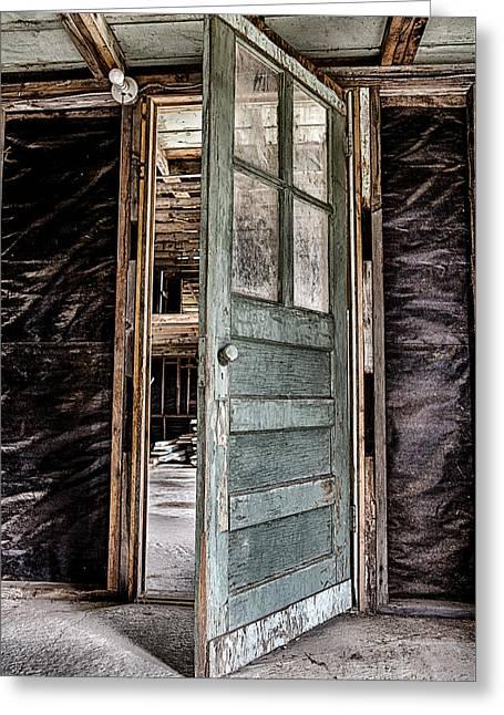 Open Door Greeting Card by Caitlyn  Grasso