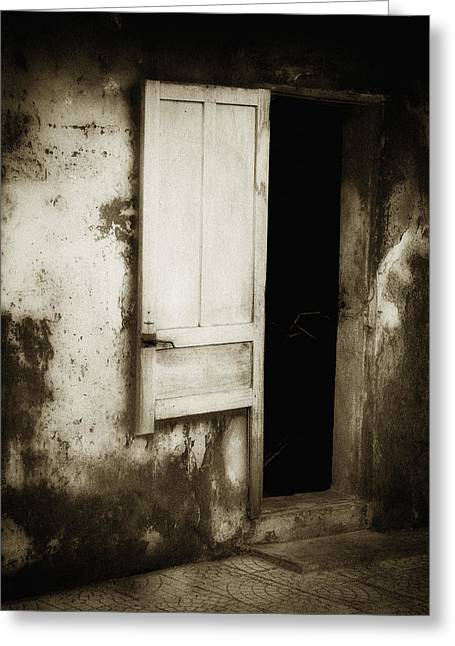 Open Door Greeting Card by Skip Nall