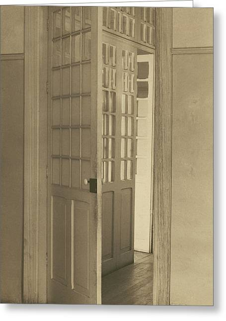 Open Doors, Mexico City Tina Modotti, American Greeting Card
