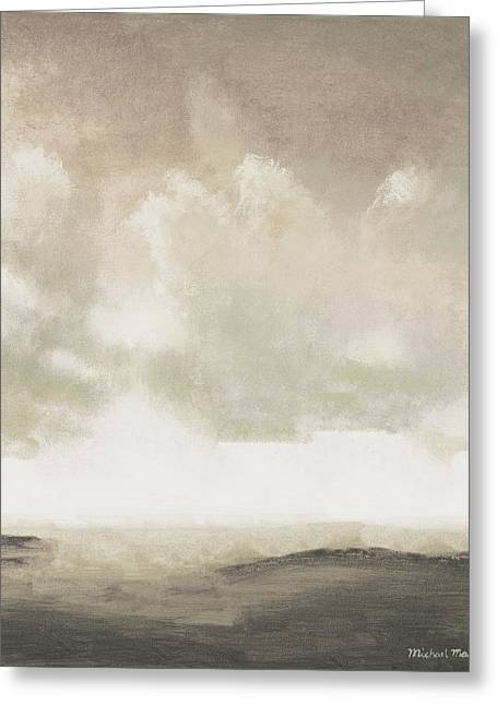 Open Gray Sky I Greeting Card