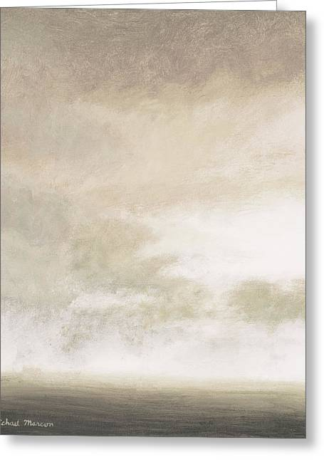 Open Gray Sky II Greeting Card by Michael Marcon