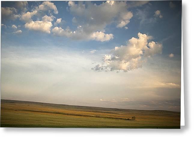 Open Skies Greeting Card by Andrew Soundarajan