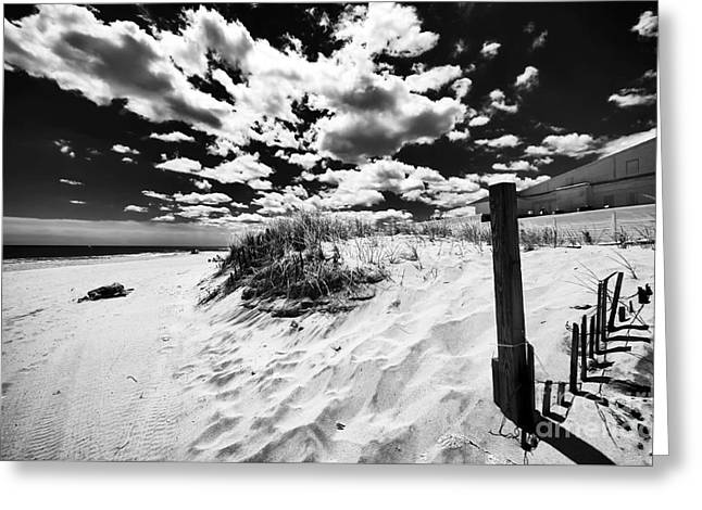 Open Sky In Asbury Greeting Card by John Rizzuto