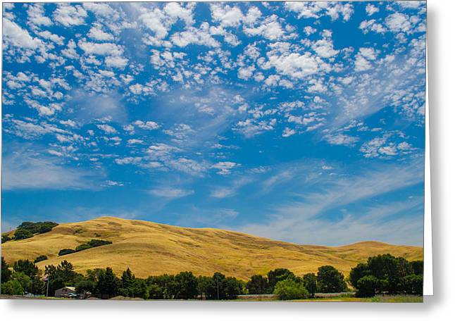 Open Sky Greeting Card by Rima Biswas