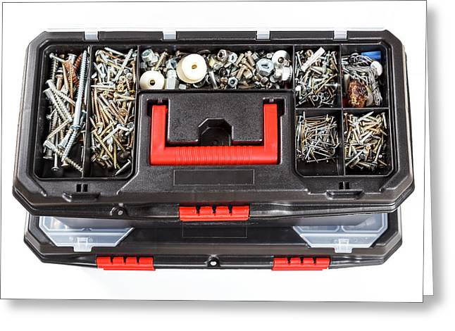 Open Toolbox Greeting Card