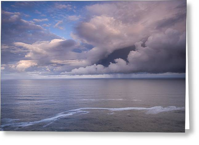 Opening Clouds Greeting Card by Andrew Soundarajan