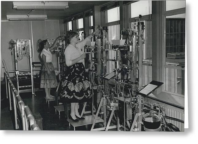 Opening Of The Warren Spring Laboratory... Research Into Greeting Card by Retro Images Archive