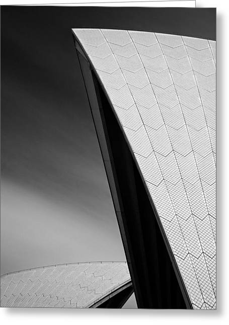 Opera House Greeting Card by Dave Bowman