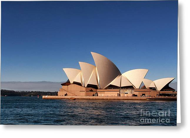 Greeting Card featuring the photograph Opera House by John Swartz