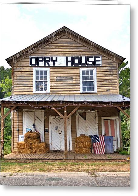 Greeting Card featuring the photograph Opry House - Square by Gordon Elwell
