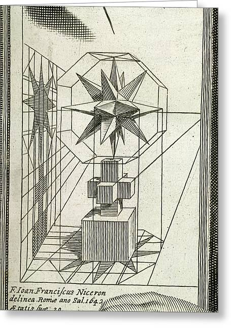Optical Diagram Greeting Card by British Library