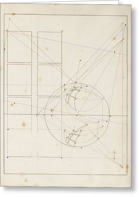 Optical Theories Of Drawing Greeting Card by King's College London