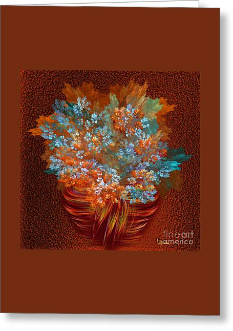 Optimistic Art - A Gift Of Joy By Rgiada Greeting Card