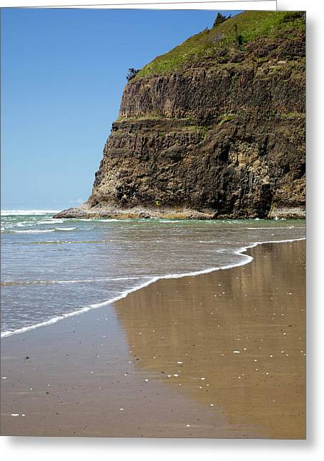Or, Oceanside Beach State Wayside Greeting Card by Jamie and Judy Wild