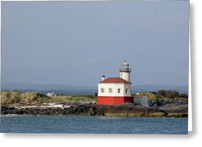 Or, Oregon Coast, Bandon, Coquille Greeting Card by Jamie and Judy Wild