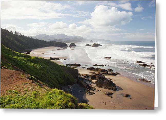 Or, Oregon Coast, Ecola State Park Greeting Card