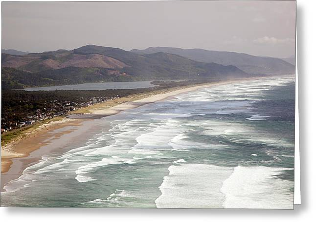 Or, Oregon Coast, Neahkahnie Beach Greeting Card