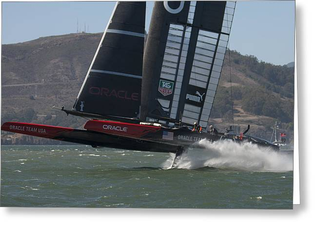 Oracle Team Usa - 4 Greeting Card