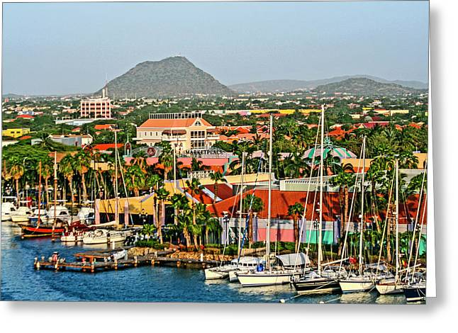 Oranjestad, Aruba Greeting Card