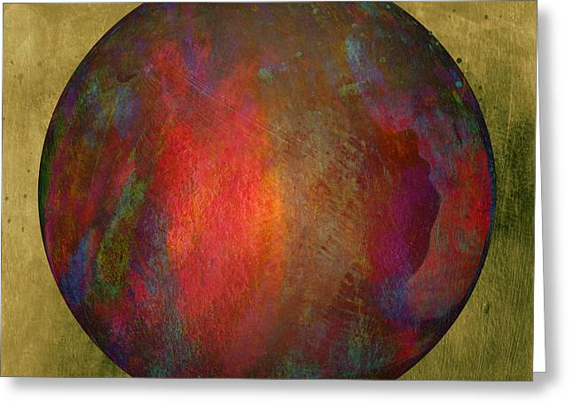 Orb Number Two Greeting Card by David Gordon